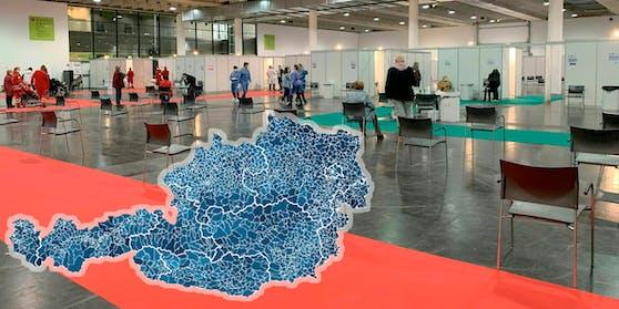 Das Spitzenfeld befindet sich überwiegend im Burgenland