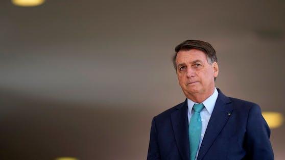 Stellt die Legimität der Wahlen infrage wie Vorbild Donald Trump: Jair Bolsonaro.