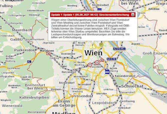 Öffi-Chaos in Wien