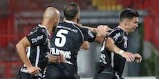 LASK startet Europacup-Quali mit 1:0-Sieg in Serbien