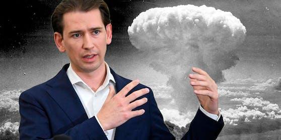 Kurz warnt vor der Gefahr von Atomwaffen.