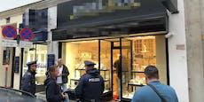 Räuber raste nach Juwelier-Coup in Wien mit Taxi davon