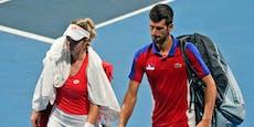 Djokovic-Partnerin bricht nach Olympia ihr Schweigen