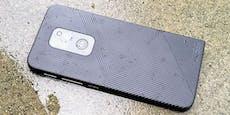 Motorola Defy im Test: Harte Schale, guter Kern