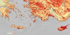 Über 50 Grad! Mittelmeer verbrennt bei Höllen-Hitze