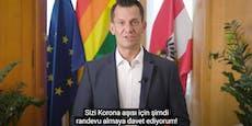 Impf-Appell! Mückstein spricht türkisch und kroatisch