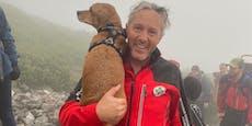 Mutter, zwei Kinder und Hund von Schneeberg gerettet