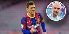 Messi zu Manchester City? Guardiola spricht Klartext