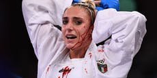 Italienerin siegt trotz gruseliger Kopfverletzung