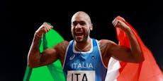 Doping-Aufregung um Italiens Sprinterkönig Jacobs