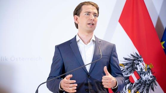 """Bundeskanzler Sebastian Kurz: """"Es gibt keine Impfpflicht in Österreich"""""""