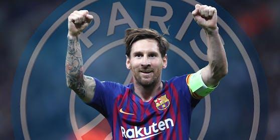 Lionel Messi soll zu Paris Saint-Germain wechseln.