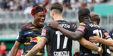 4:0! Leipzig-Sieg bei Marsch-Debüt, Blamage für Bremen