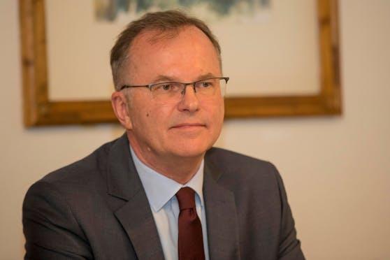 Volksanwalt Günther Kräuter (hier ein Bild aus 2017) ist tot.