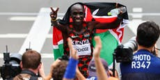 Weltrekordler Kipchoge holt erneut Marathon-Gold