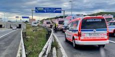 Sekundenschlaf! Sieben Verletzte bei Unfall auf S2