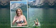 Meinl-Reisinger posiert im Bikini vor ORF-Sommertalk