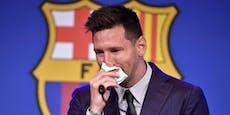 Messi bricht bei Barca-Abschied in Tränen aus