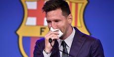 Abschied: Was Messi seinen Barca-Kollegen schrieb