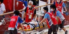 Olympia-Offizieller nach Massencrash im Spital