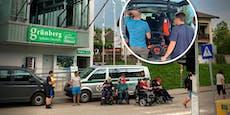 Erneut Rollstuhlfahrer (47) von Grünberg gerettet