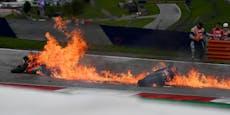 Spielberg-Abbruch! MotoGP-Bikes gehen in Flammen auf