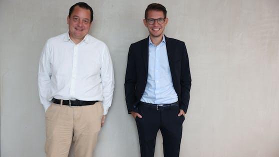 Peter Frick und Clemens Oistric bedanken sich im Namen der Heute.at-Chefredaktion für das Vertrauen.