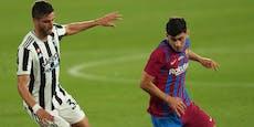 Demir-Assist bei Barcelonas 3:0 gegen Juventus
