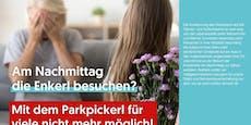 VP-Kampagne zu Parkpickerl sorgt auf Twitter für Lacher