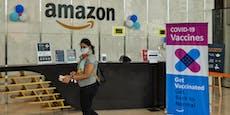 Amazon bietet Mitarbeitern Geld für Corona-Impfung