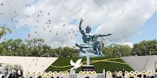 So gedenkt Nagasaki den Opfern der US-Atombombe 1945