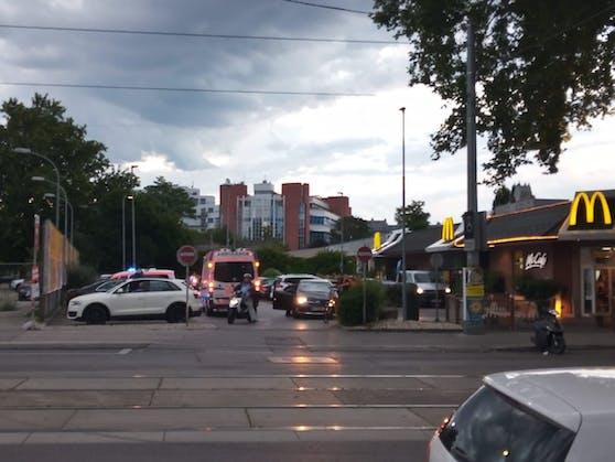 Rettungs-Einsatz in Wien-Döbling