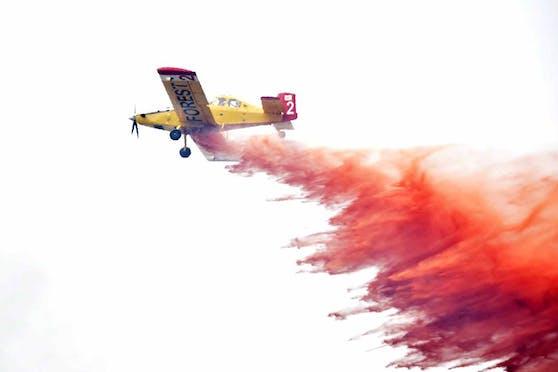 Ein kleines Löschflugzeug ist auf Zakynthos abgestürzt. Symbolbild