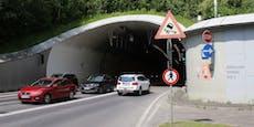 Lenker fuhr mit 159 km/h in Mona Lisa Tunnel