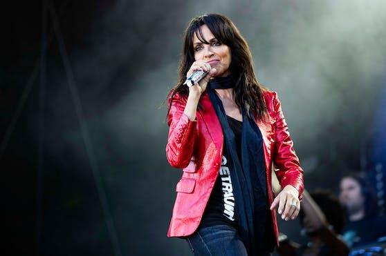 Nena performte in Österreich.