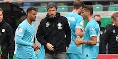 Wolfsburgs Wechsel-Fehler: Gegner legt Einspruch ein