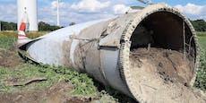 Nach Absturz: Sonderprüfung für Windräder gleichen Typs