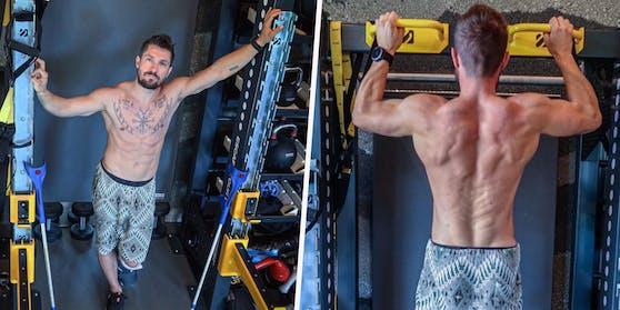 Marcel Hirscher zeigt auf Instagram seine Muskeln und Tattoos.