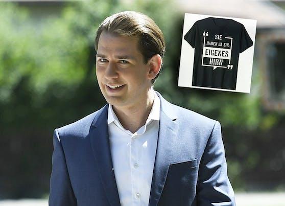 Kleidung mit Kanzler-Spruch gibt es jetzt auf amazon.de zu kaufen.