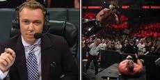 """WWE-Österreicher: """"Sie fliegen oft durch unseren Tisch"""""""