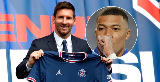 Lionel Messi, Kylian Mbappe