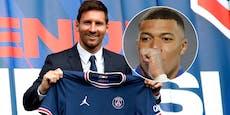 Nach Messi-Deal: Darf Mbappe Paris nicht verlassen?