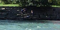 Einbrecher (28) flieht vor Polizei in Fluss – ertrinkt