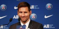 """Messi bei Paris präsentiert: """"Es wird neues Leben"""""""