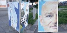 FPÖ lässt Plakate jetzt von Detektiven bewachen