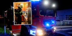 Futternapf ging in Flammen auf - Hund gerettet