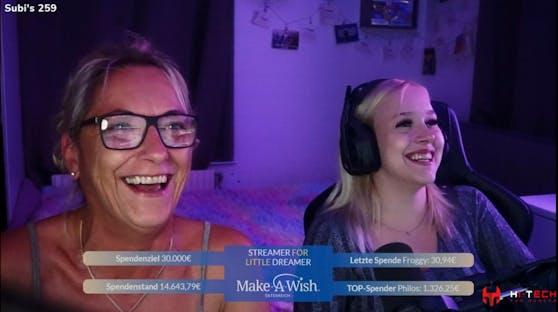 Das Streaming Event von MrsXeniaTV für Make-A-Wish.