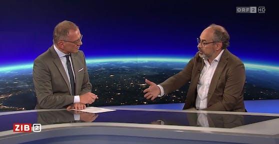 Armin Wolf im Gespräch mit Klimaforscher Keywan Riahi