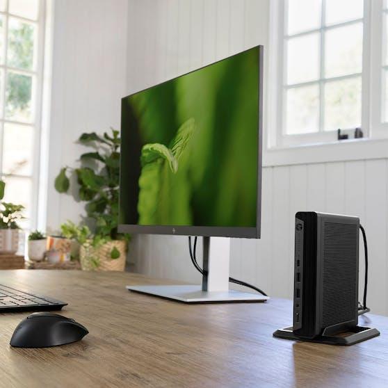 Neue HP Desktop-PCs unterstützen hybride Workforce.