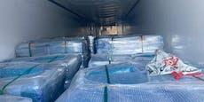 22 Migranten nach Lkw-Transport aufgegriffen